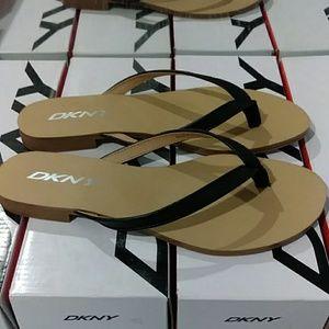 Dkny Nappa Pu Leather Women's Sandals 👡